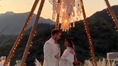 Photo of Саша Зверева сыграла свадьбу в стиле бохо в Калифорнии