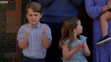 Photo of Кейт Миддлтон и принц Уильям с детьми снялись для ТВ-ролика в поддержку британских врачей