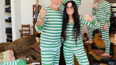 Photo of Деми Мур воссоединилась с Брюсом Уиллисом на время карантина