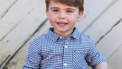 Photo of С днем рождения, принц Луи: Кейт Миддлтон поделилась новыми портретами сына