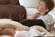 Photo of Александр Овечкин и Настасия Шубская поделились новыми фото новорожденного сына