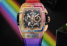 Photo of Выше радуги: Hublot представили часы Spirit Of Big Bang Rainbow