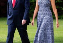 Photo of Дональд и Мелания Трамп посетили запуск космического судна, которого не было