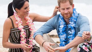 Photo of Открытка против кольца: как Меган Маркл сэкономила на подарке для принца Гарри на годовщину свадьбы