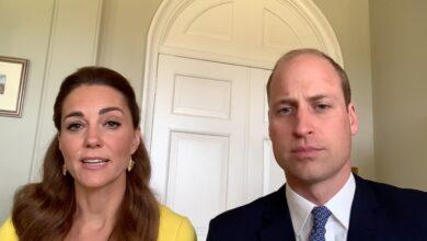 Photo of Наперегонки со временем: Кейт Миддлтон и принц Уильям записали обращение для жителей Австралии